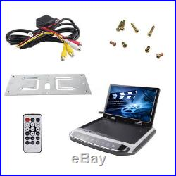 1080P 10.1 Wide LCD TFT Car Ceiling Flip Down Monitor Auto Roof Mount Screen TV