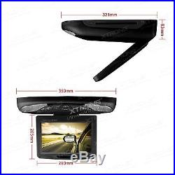 11.3 Wide Screen LCD TFT Car SUV Truck Flip Down Roof Mount Monitor DVD Player