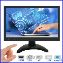 13.3 IPS LCD HD Monitor 1080P Wide Screen HDMI for PC CCTV Xbox360 XboxOne PS4