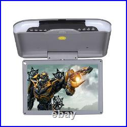 13LCD TFT Car Monitor Ceiling Flip Down Overhead Roof Mount Wide Screen 12/24V