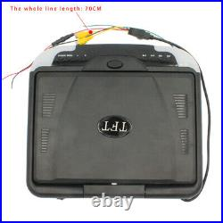 13in Car Monitor LCD Overhead 12V TFT Flip Down Roof Mount Digital Wide Screen