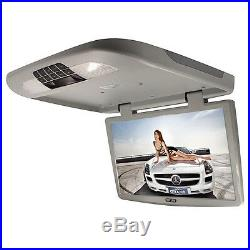 18.5 Inch TFT LCD Monitor Car Roof Overhead Mount Wide Screen Monitor Light Grey