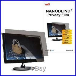 23 inch WIDE A (509.5x286.5mm) NANOBLIND Privacy Screen Filter for LCD Monitor