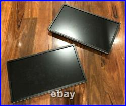2x Dell P2314HT 23'' Wide Screen LCD Monitor + Ionic Dual Monitor Stand + Cables