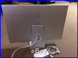 30-Apple-HD-Aluminum-Widescreen-Cinema-LCD-Display A1083 EMC withpower supply