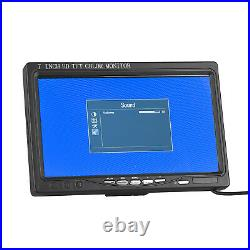 7 inch LCD HDMI Cable 1024x600 IPS Wide Screen Car Backup DVD Monitor Speaker