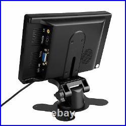 7 inch LCD Monitor HDMI 1024x600 IPS Wide Screen Audio Speaker 1.5m Video Cable