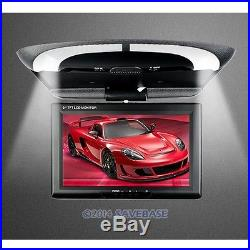 9 In-car Overhead Ceiling Roof Mount Monitor For DVD Display LCD Wide Screen