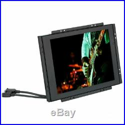 ACCELE LCDM104SVGATS 10.4 inch Touch Screen Wide LCD Monitor Metal Housed VGA