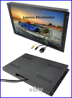ACCELE LCDMC22WH 21.5 Widescreen Metal Housed Flush/Panel Mount LCD Monitor