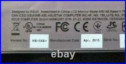 ASUS MB168B 15.6 Portable Widescreen LED LCD Monitor with Cable and Case