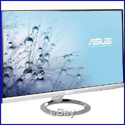 ASUS MX279H 27 Widescreen LED LCD Backlit IPS Monitor Built-in Speakers Silver