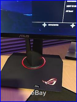 ASUS PG278Q 27 Widescreen LED LCD Monitor G-Sync 1440p 144Hz Refresh Rate 1ms