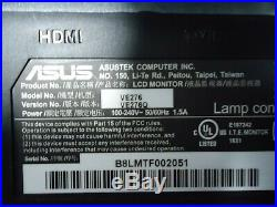 ASUS VE276Q Black 27 1920X1080 HDMI VGA VDI Widescreen LCD Monitor