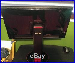 ASUS VG VG248QE 24 Widescreen LED LCD Monitor, built-in Speakers, 144Hz display