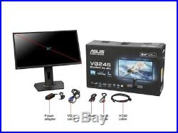 ASUS VG245H Black 24 1ms (GTG) HDMI Widescreen LED Backlight LCD Monitor 250 cd