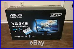 ASUS VG248QE 24 Widescreen LED LCD Monitor, With Built-in Speakers