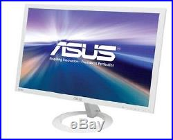 ASUS VX238H-W White 23 1ms (GTG) HDMI Widescreen LED Backlight LCD Monitor New