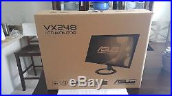 ASUS VX248H Black 24 1ms Widescreen LED Backlight LCD Monitor with Speakers