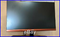 Acer 27 Widescreen LCD Gaming Monitor LCD Display WQHD 2560 x 1440 144Hz 1ms