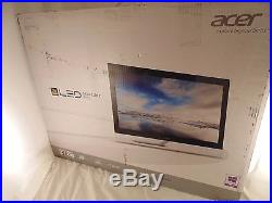 Acer T272HL 27 Wide 3D Touch Screen Monitor LED/LCD withSpeakers NEW EC M
