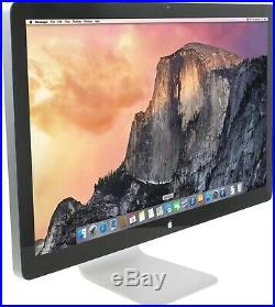 Apple 27 Thunderbolt Monitor A1407 LCD Widescreen 2560 X 1440 Display