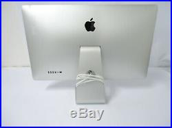 Apple 27 Thunderbolt Monitor A1407 LCD Widescreen 2560 X 1440 Display GOOD DEAL