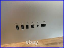 Apple 27 Thunderbolt Monitor A1407 LCD Widescreen 2560 X 1440 Display with Cables