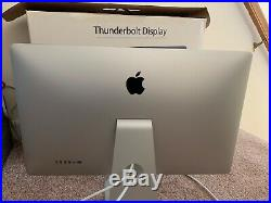 Apple 27 Thunderbolt Monitor A1407 LCD Widescreen A+