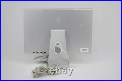 Apple A1081 20 LCD Monitor Mac Cinema Display Widescreen with Power Brick Tested