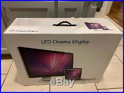 Apple A1316 27 Cinema Display 2560x1440 Widescreen LCD Monitor LED