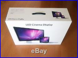 Apple Cinema Display 27 Widescreen LED LCD Monitor, built-in Speakers