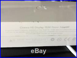Apple Cinema HD Display 30 A1083 LCD 2560x1600 Widescreen DVI with Power Supply