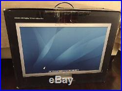 Apple Cinema HD Display 30 Widescreen LCD 2560x1600 Monitor with Power Adapter