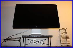 Apple Cinema MC007LL/A 27 Widescreen LED LCD Monitor, built-in Speakers