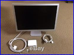 Apple HD Cinema Display 23 Widescreen LCD Monitor with 90W AC Adapter A1082