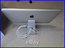 Apple Thunderbolt 27 Widescreen LCD Monitor MINT CONDITION