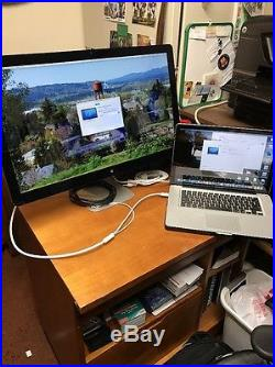 Apple Thunderbolt A1407 27 Widescreen IPS LCD Monitor, built-in Speakers
