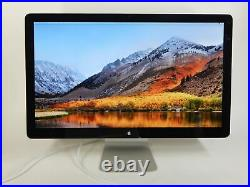 Apple Thunderbolt A1407 27 Widescreen LCD Monitor Good Condition
