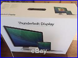 Apple Thunderbolt A1407 27 Widescreen LCD Monitor, built-in Speakers USED
