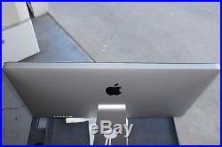 Apple Thunderbolt A1407 MC914LL/A, 27 Widescreen LCD Monitor, built-in Speaker