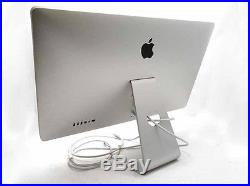 Apple Thunderbolt Display 27 A1407 Widescreen LCD Monitor Used