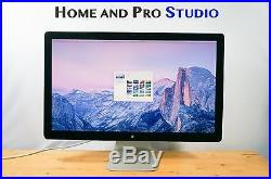 Apple Thunderbolt Display A1407 27 Widescreen IPS LCD Monitor, Speakers