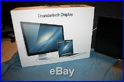Apple Thunderbolt Display A1407 27 Widescreen LCD Monitor, built-in Speakers