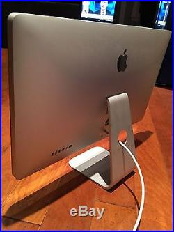 Apple Thunderbolt MC914LL/A 27 Widescreen LCD Monitor, built-in Speakers