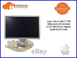 Apple iMac A1082 23 HD Widescreen LCD Monitor + A1097 90W Power Adapter & Cable