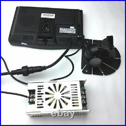Astrodyne MK40S-12 Power Supply With 7 VGA & Monitor, Wide Screen TFT LCD