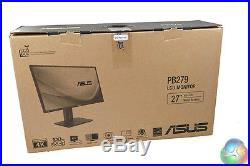 Asus 27 5ms 4K HDMI 10-bit Widescreen LED Backlit LCD IPS Monitor PB279Q