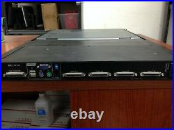Belkin Wide Screen LCD Rack Console with 8-port KVM F1DC108H C1050DS
