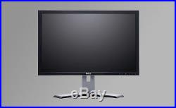 DELL LARGE 24 Widescreen LCD Monitors (B) with cables Gaming TFT for Computer PC